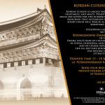 Culinary Journey – Korean Cuisine by Chef Kyonghoon Daniel Chong (Hilton Bandung)