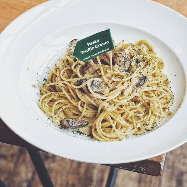 Pasta Trueffle Cream