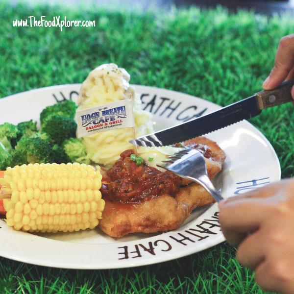 Chicken Parmigiana - IDR 79K