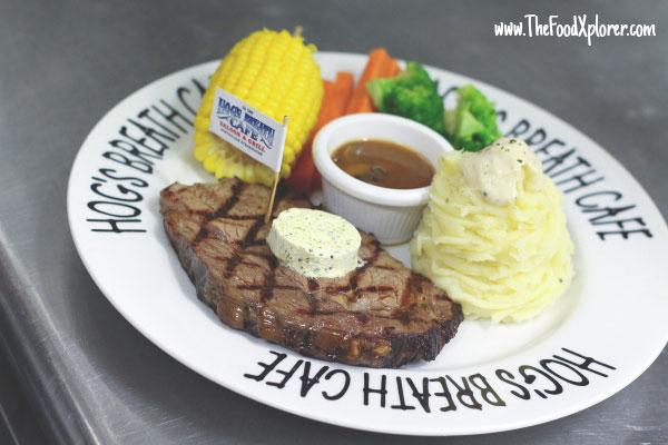 Natural Prime Rib Steak -  Lite Cut (170gr) - IDR 198K, Regular (200gr) - IDR 229K, Boss Hog (300gr) - IDR 298K