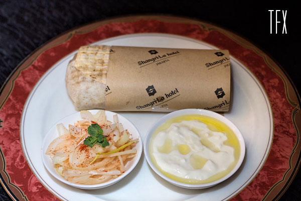 Kebab Halabi Wraps - IDR 175k