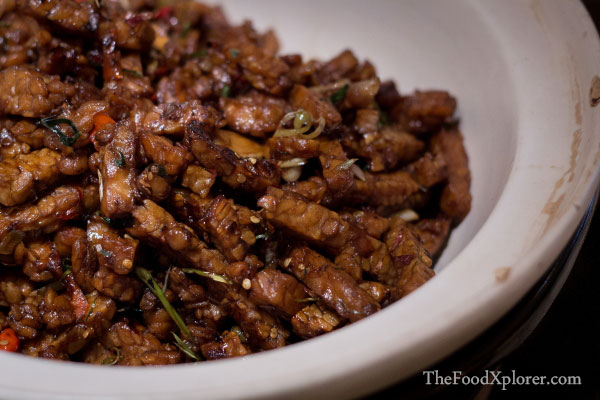 Orek Tempe - Stir Fried Soybean with Brown Sugar & Tamarind