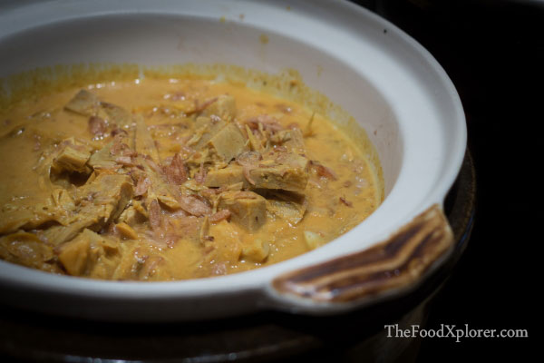 Gulai Nangka - Jack Fruit Curry