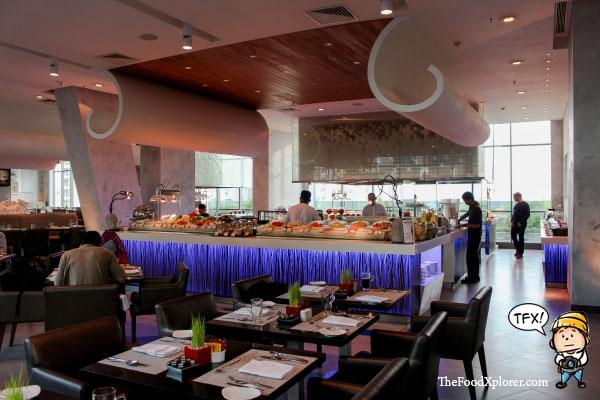 Buffet Collage Resto Pullman Hotel Jakarta