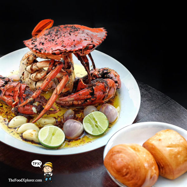 Delicious Papua Butter Crab by Chef Epi Seafood ...