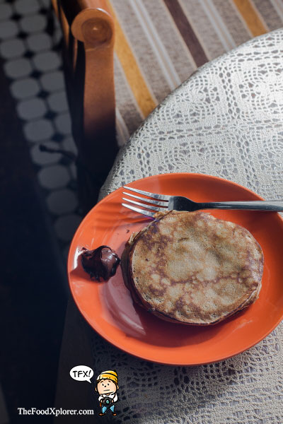 Pancake---Old-Batavia-Capsule-Hotel---Indonesia
