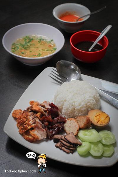 Nasi-Campur---The-Sun-Cafe---Bandung