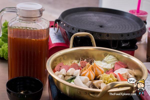 Budae-Jigae---Chagiya-Korean-Suki-&-BBQ-di-Bandung