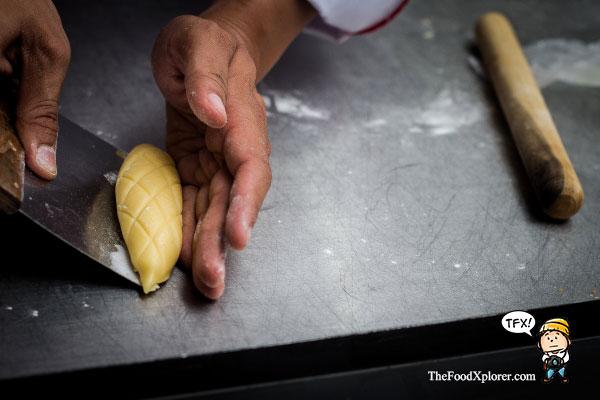 cara-membuat-roti-melon-pan